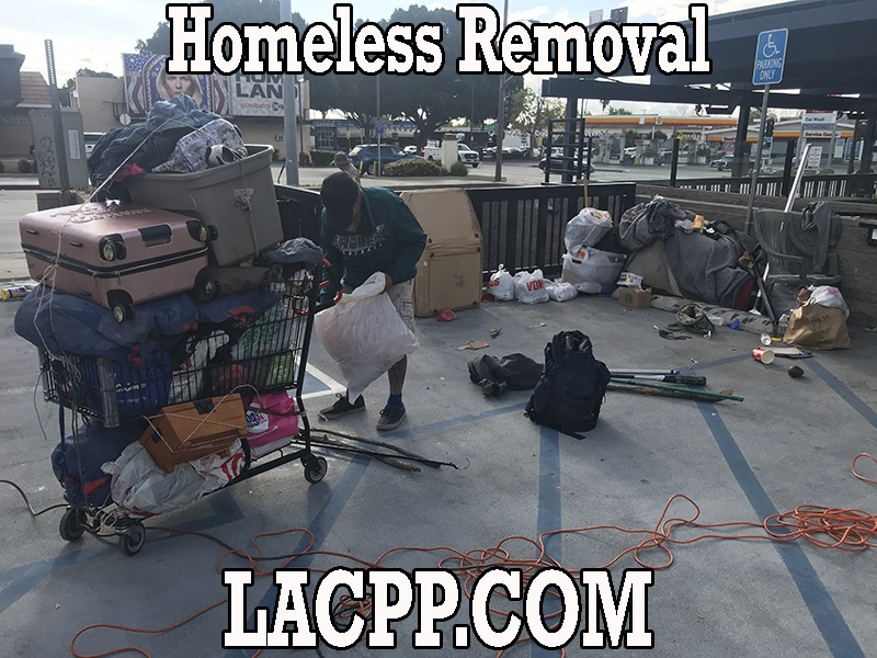 Homeless Removal and Homeless Clean Up